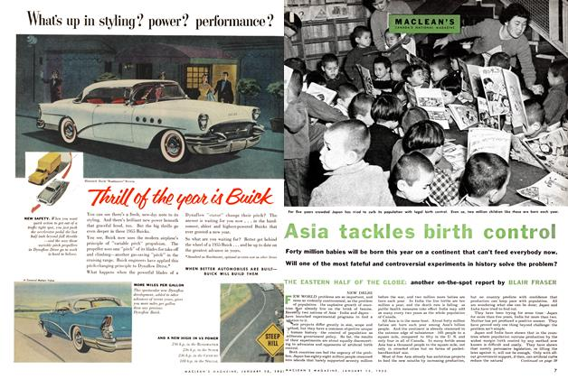Article Preview: Asia tackles birth control, January 1955 | Maclean's