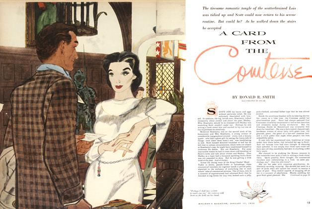 Article Preview: A CARD FROM THE Comtesse, January 1955 | Maclean's
