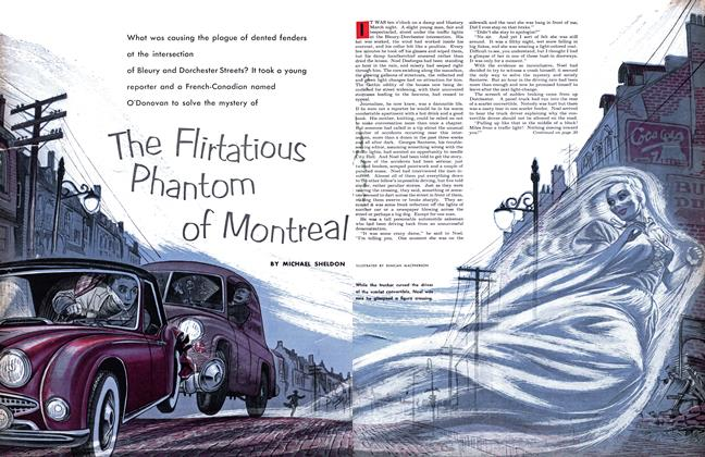 Article Preview: The Flirtatious Phantom of Montreal, February 1955 | Maclean's
