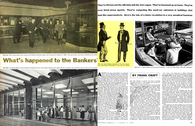 Article Preview: What's happened to the Bankers', February 1955 | Maclean's