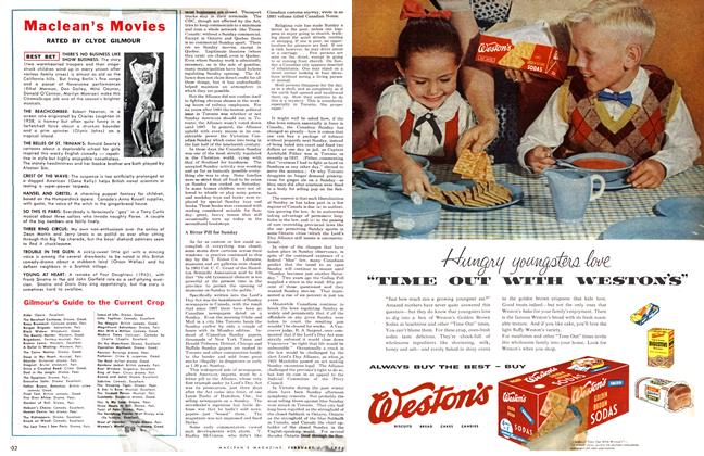 Article Preview: Maclean's Movies, February 1955 | Maclean's