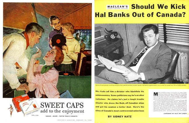 Article Preview: Should We Kick Hal Banks Out of Canada?, February 1955 | Maclean's