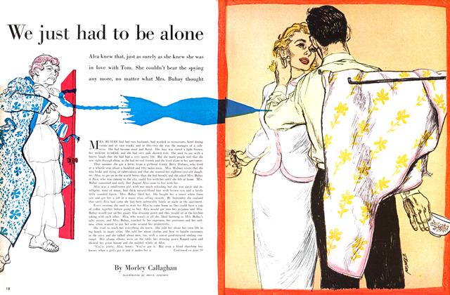 Article Preview: We just had to be alone, March 1955 | Maclean's