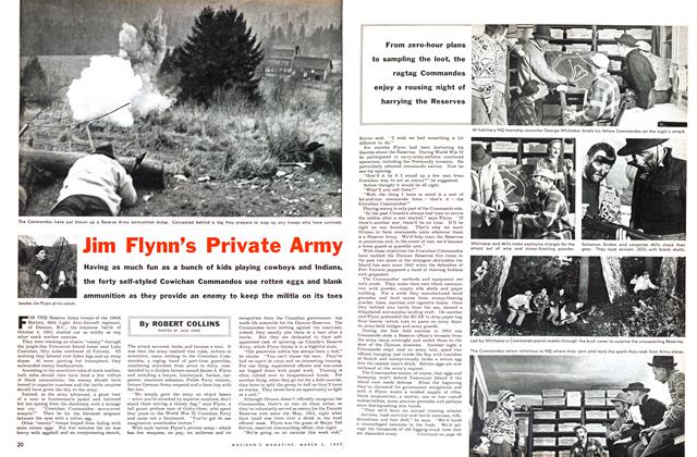 Article Preview: Jim Flynn's Private Army, March 1955 | Maclean's