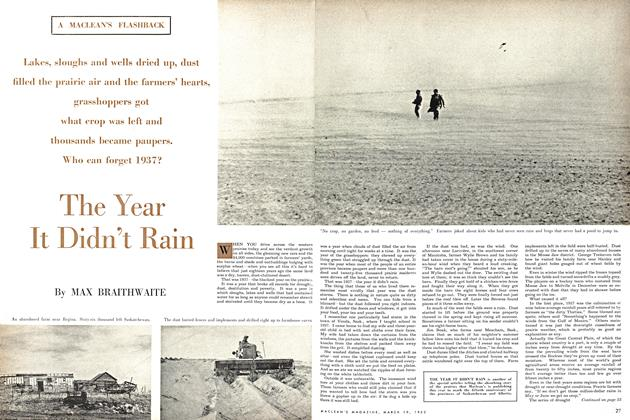 Article Preview: The Year It Didn't Rain, March 1955 | Maclean's