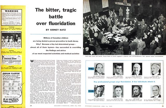 Article Preview: The bitter, tragic battle over fluoridation, April 1955 | Maclean's