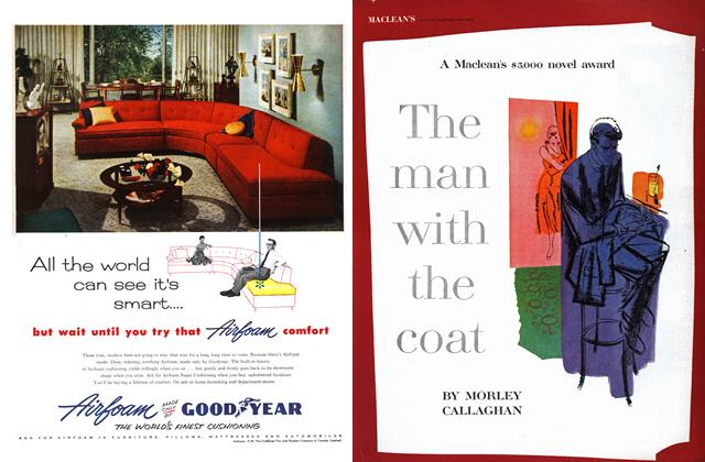 Article Preview: The man with the coat, April 1955 | Maclean's