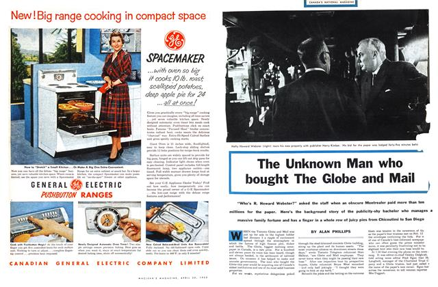Article Preview: The Unknown Man who bought The Globe and Mail, April 1955 | Maclean's