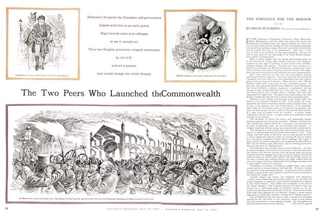 Article Preview: The Two Peers Who Launched the Commonwealth, May 1955 | Maclean's