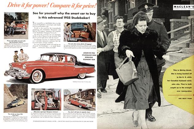 Article Preview: What's behind the Immigration wrangle?, May 1955 | Maclean's