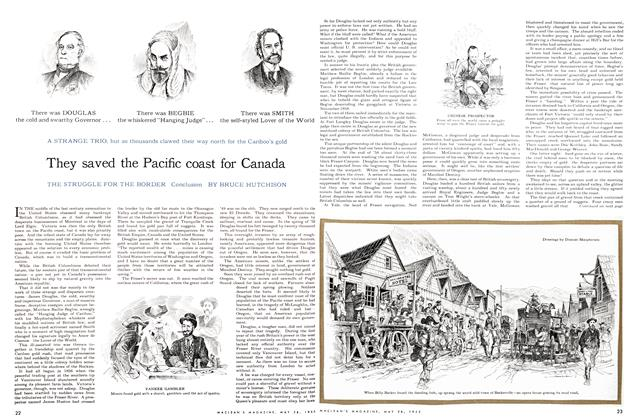Article Preview: They saved the Pacific coast for Canada, May 1955 | Maclean's
