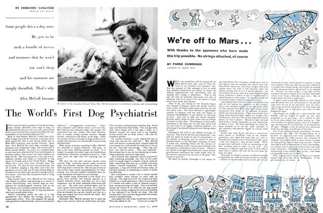 Article Preview: The World's First Dog Psychiatrist, June 1955 | Maclean's