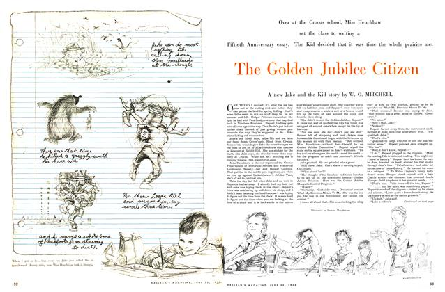 Article Preview: The Golden Jubilee Citizen, June 1955 | Maclean's