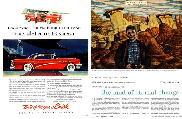 Article Preview: the land of eternal change, June 1955   Maclean's