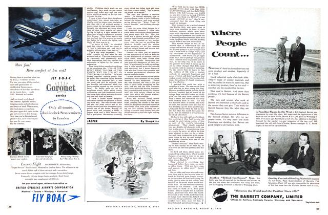 Article Preview: JASPER, August 1955 | Maclean's