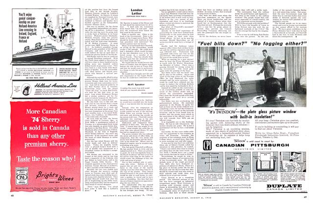 Article Preview: Hi-Fi Speaker, August 1955 | Maclean's