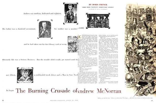 Article Preview: The Burning Crusade of Andrew McNorran, August 1955 | Maclean's