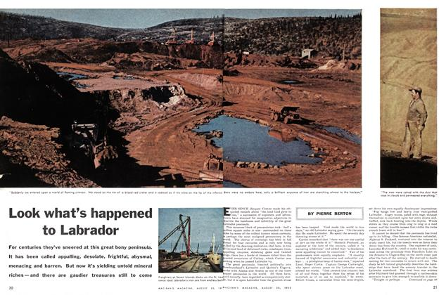 Article Preview: Look what's happened to Labrador, August 1955 | Maclean's