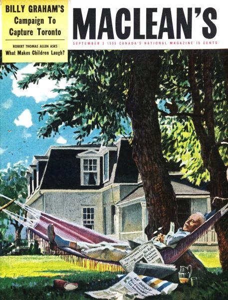 Issue: - September 1955   Maclean's