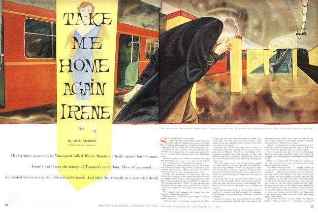Article Preview: TAKE ME HOME AGAIN IRENE, September 1955 | Maclean's
