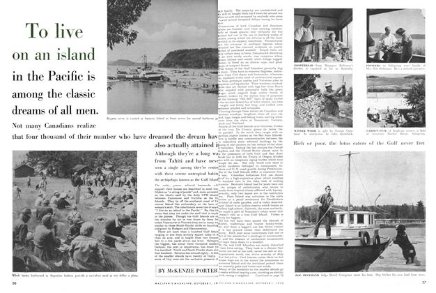 Article Preview: To live on an island, October 1955 | Maclean's