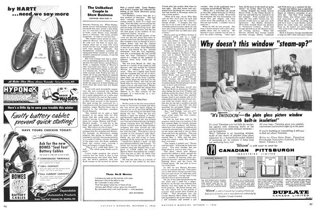 Article Preview: Those No-D Movies, October 1955 | Maclean's