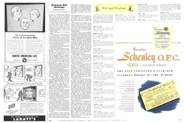 Article Preview: Wit and Wisdom, October 1955 | Maclean's