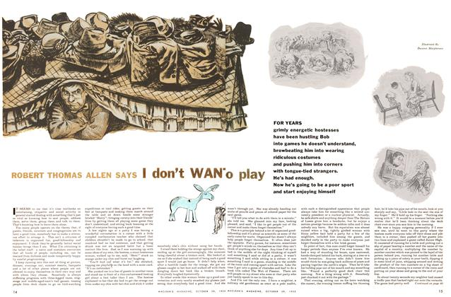 Article Preview: ROBERT THOMAS ALLEN SAYS I don't WANT to Play, October 1955 | Maclean's