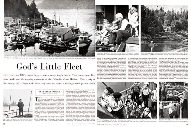 Article Preview: Good's Little Fleet, November 1955 | Maclean's