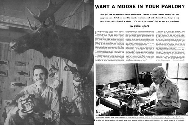 Article Preview: WANT A MOOSE IN YOUR PARLOR?, November 1955 | Maclean's