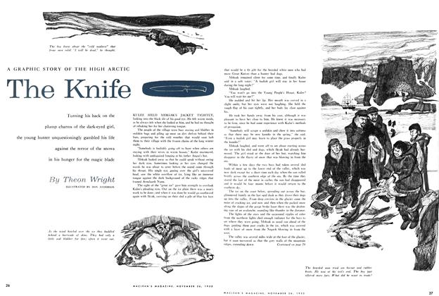 Article Preview: The Knife, November 1955 | Maclean's