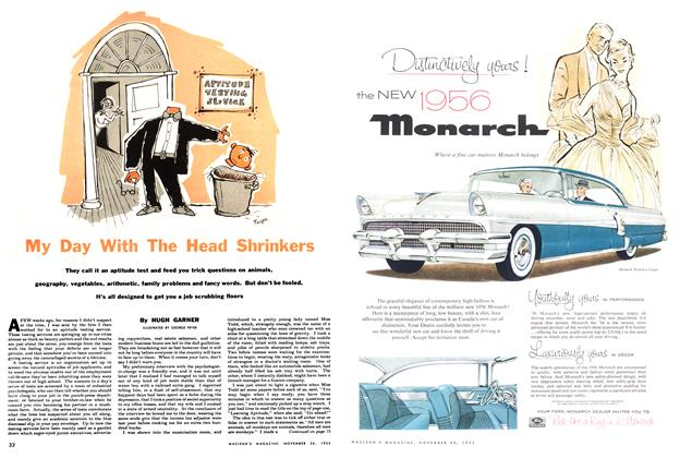 Article Preview: My Day With The Head Shrinkers, November 1955 | Maclean's