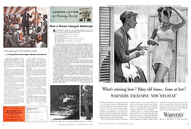 Article Preview: LONDON LETTER, November 1955 | Maclean's