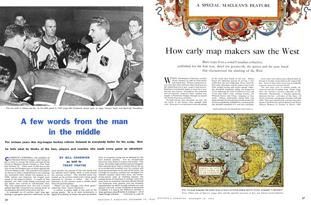 Article Preview: A few words from the man in the middle, December 1955 | Maclean's