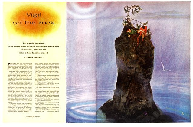 Article Preview: Vigil on the rock, December 1955 | Maclean's