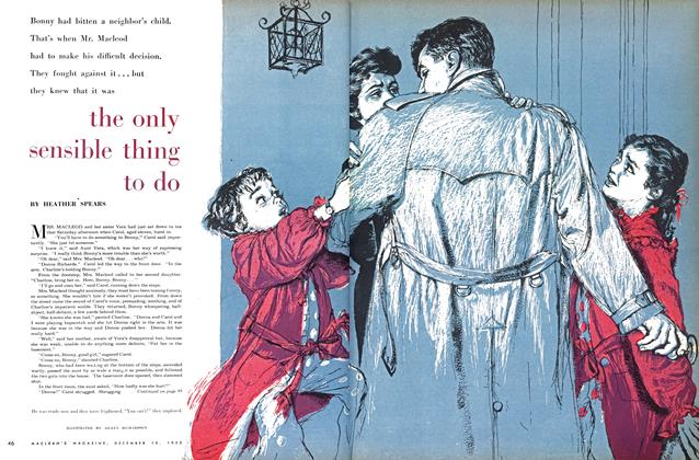 Article Preview: the only sensible thing to do, December 1955 | Maclean's