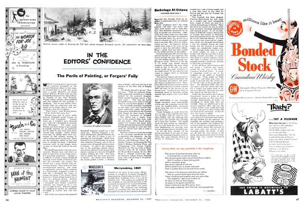 Article Preview: IN THE EDITORS' CONFIDENCE, December 1955 | Maclean's