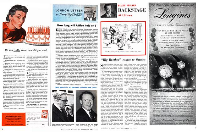 "Article Preview: ""Big Brother"" comes to Ottawa, December 1955 