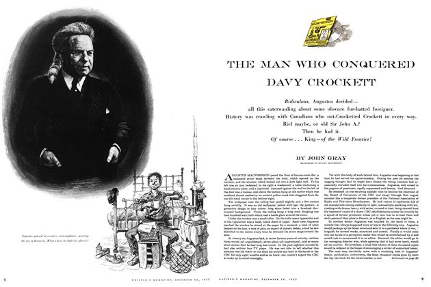 Article Preview: THE MAN WHO CONQUERED DAVY CROCKETT, December 1955 | Maclean's