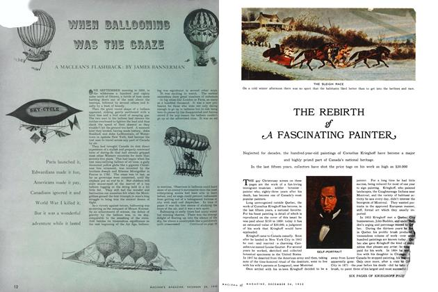 Article Preview: WHEN BALLOONING WAS THE CRAZE, December 1955 | Maclean's