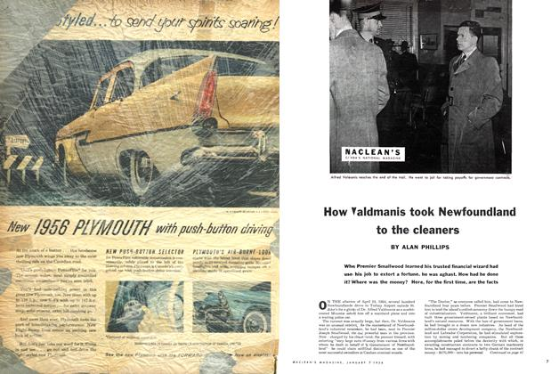 Article Preview: How Valdmanis took Newfoundland to the cleaners, January 1956 | Maclean's