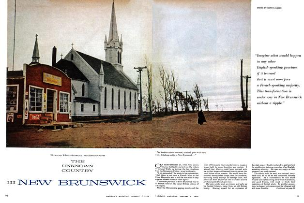 Article Preview: III NEW BRUNSWICK, January 1956 | Maclean's