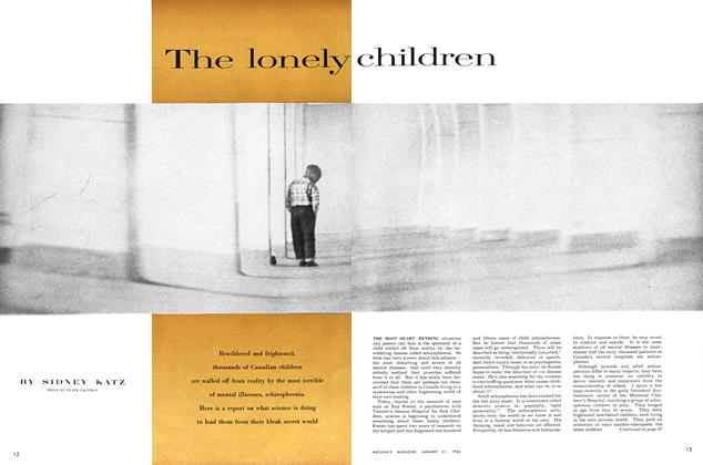 Article Preview: The lonely children, January 1956 | Maclean's