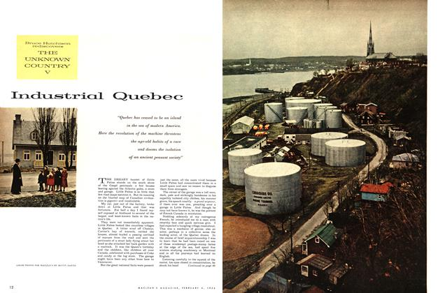 Article Preview: Industrial Quebec, February 1956 | Maclean's