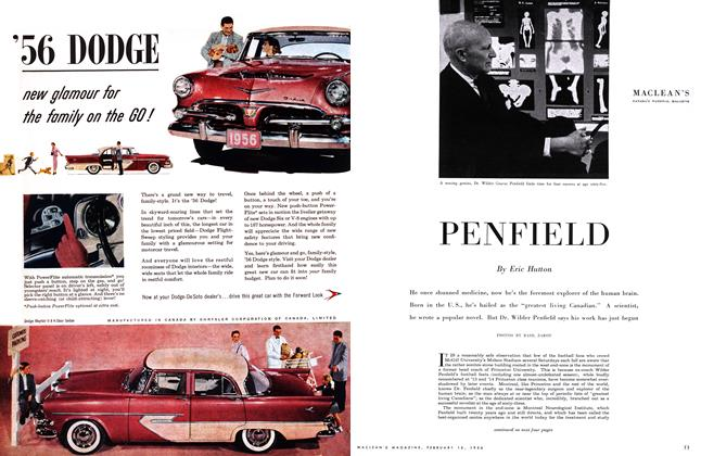 Article Preview: PENFIELD, February 1956 | Maclean's