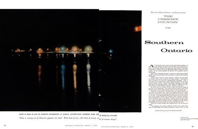Article Preview: Southern Ontario, March 1956 | Maclean's