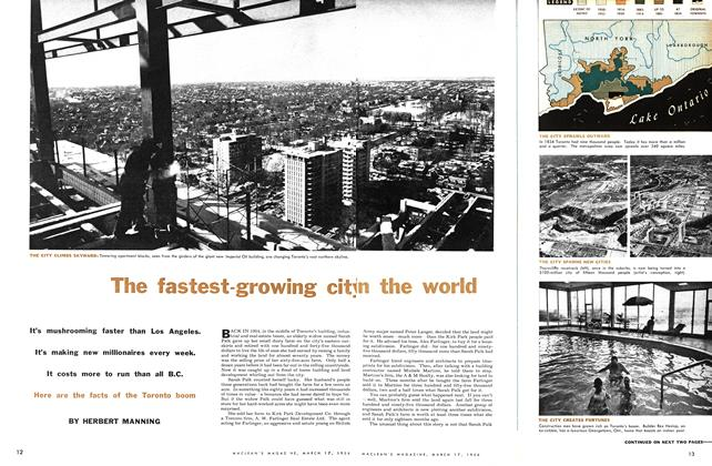 Article Preview: The fastest-growing city in the world, March 1956 | Maclean's