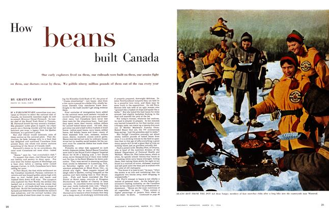 Article Preview: How beans built Canada, March 1956 | Maclean's
