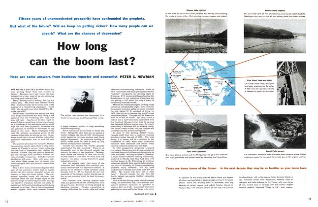 Article Preview: How long can the boom last?, March 1956 | Maclean's