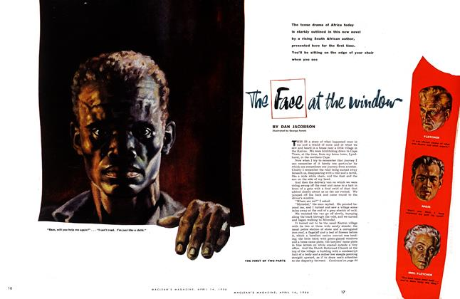 Article Preview: The Face at the window, April 1956 | Maclean's